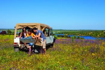 Viagem de carro - Credito Turismo do Alentejo